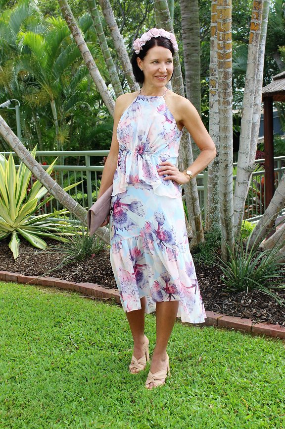 Floral Piper dress