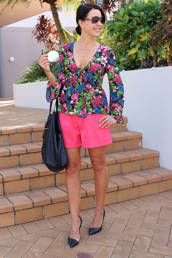 Tropical Zara top